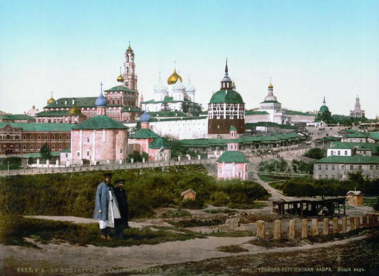 Троицкий собор Троице-Сергиевой Лавры, 1890-е гг.