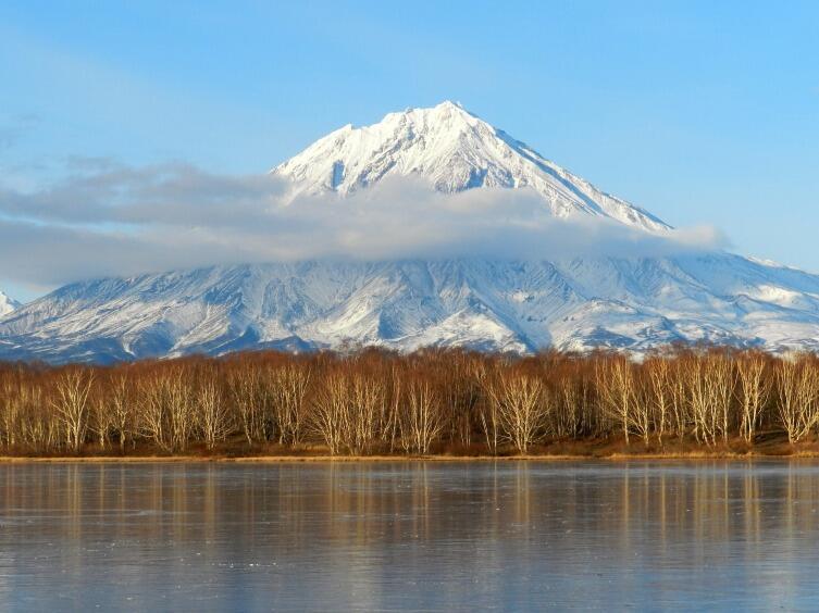 Камчатка, вулкан Корякский
