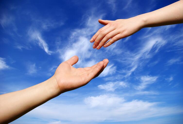 Пока есть люди, способные подать руку помощи, не все потеряно