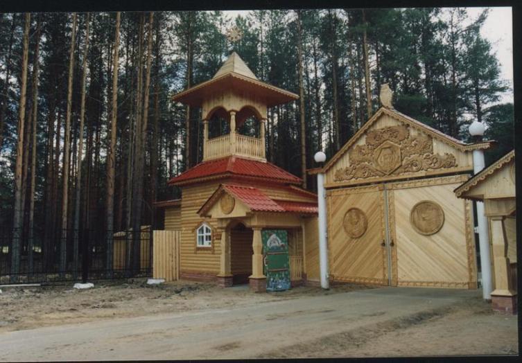 Главный вход в вотчину Деда Мороза в Великом Устюге