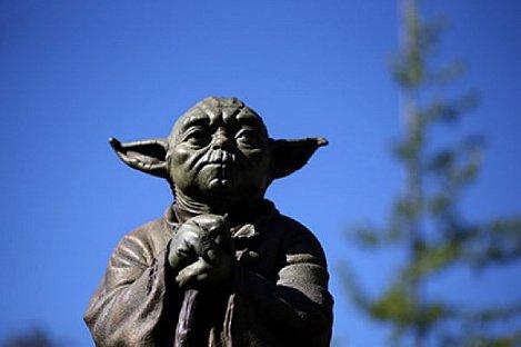Памятник персонажу «Звездных войн» мастеру Йоде в Квинсленде