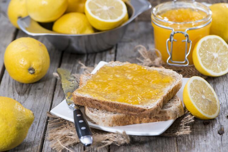 Для варенья потребуется несколько лимонов