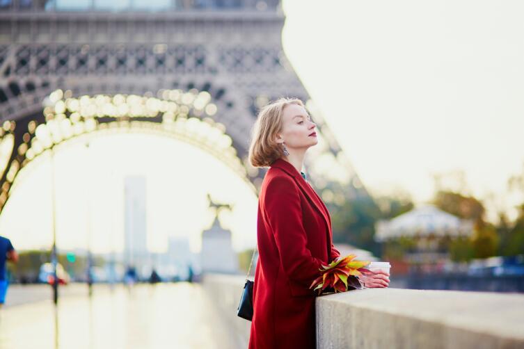 Француженка обладают хорошим вкусом в одежде