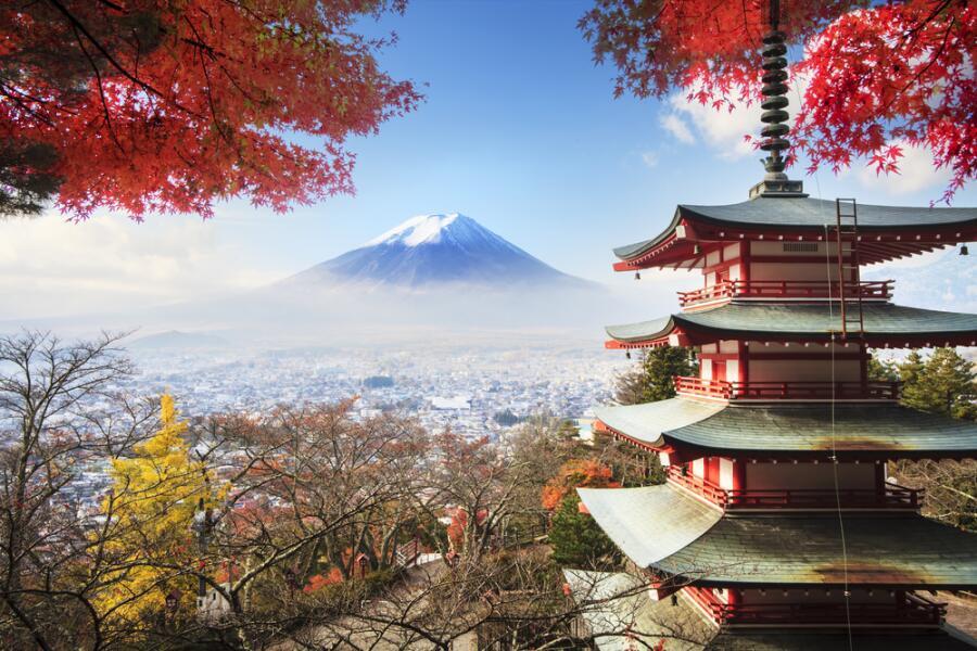 Япония. Священная гора Фудзияма