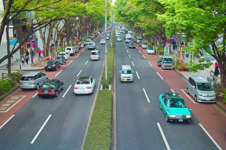 Какие есть особенности на дорогах Японии?