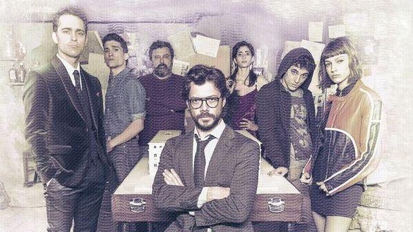 Картинка с постера сериала «Бумажный дом»