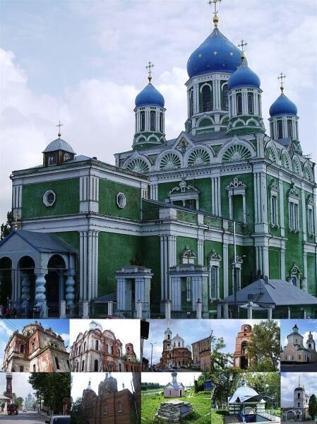 Памятники церковной архитектуры