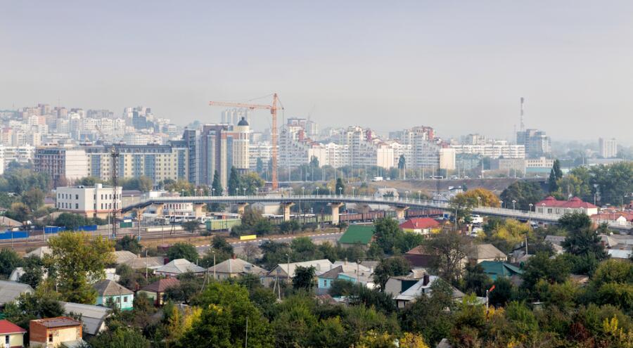 Белгород. Городской пейзаж. Россия