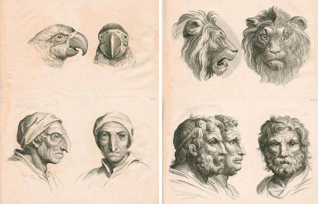 Попытка Шарля Лебрена кодифицировать визуальное выражение эмоций в живописи