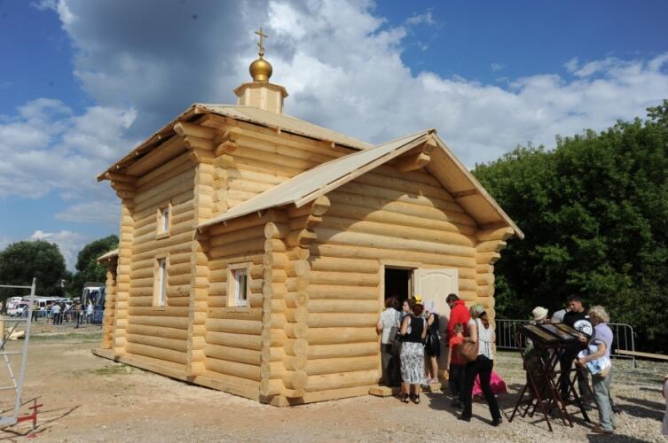 Обыденный храм, возведенные на фестивале