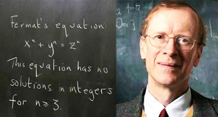 Эндрю Уайлс доказал великую теорему Ферма в 1994 году