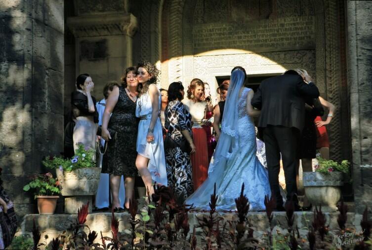 Свадьба в Сурб Григор