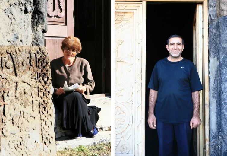 Смотрители монастыря