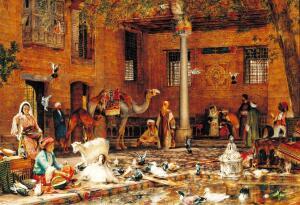 Роспись на коптской церкви (Каир)