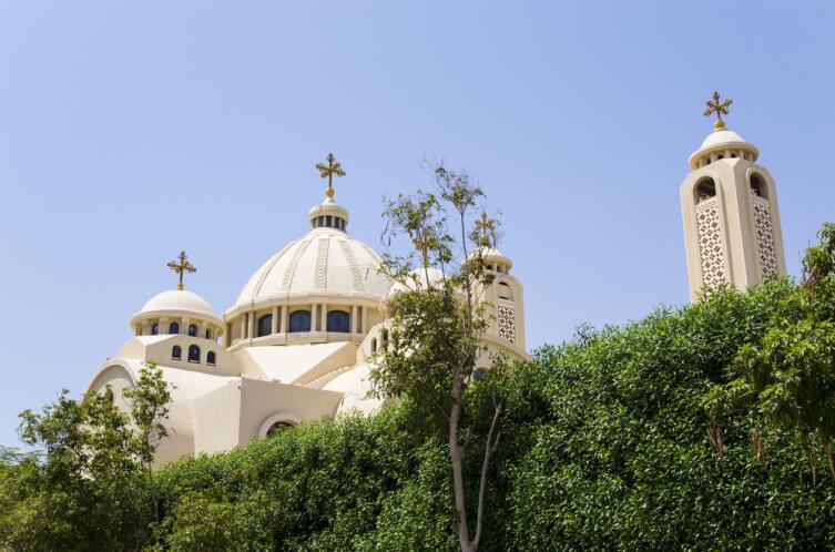 Коптская церковь в Шарм-эль-Шейх