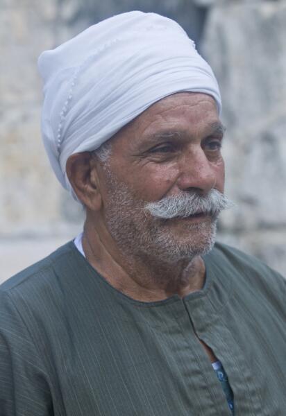 Представитель коптского народа