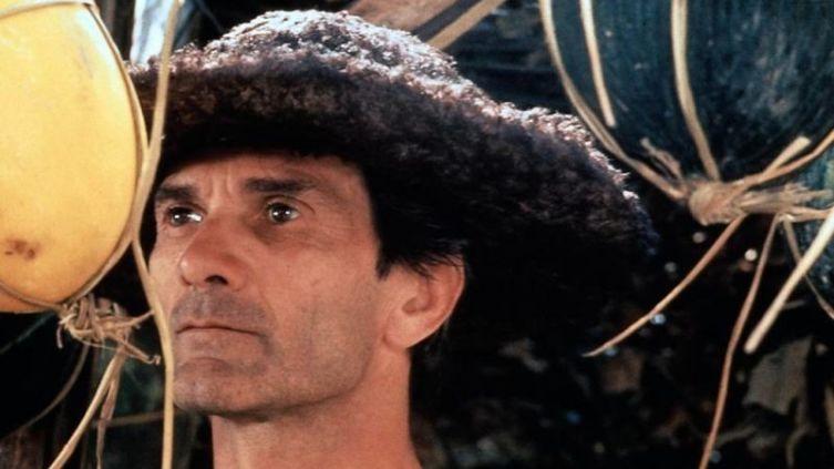 Пьер Паоло Пазолини в роли ученика Джотто