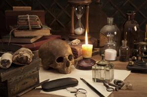 Как всякого рода мистическое, алхимия привлекала к себе внимание не только ученых, но и разных проходимцев и шарлатанов.