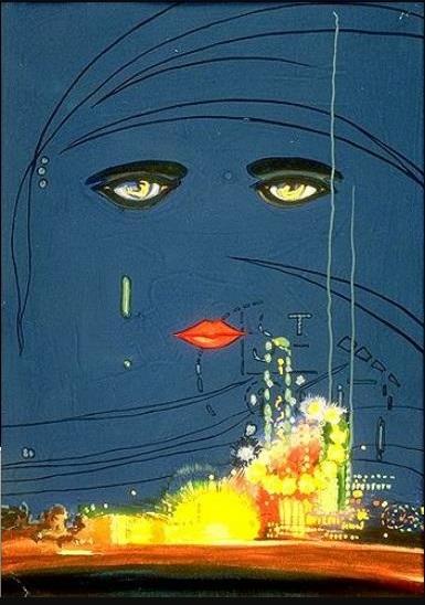 «Великий Гэтсби» оригинальная обложка, 1925 год