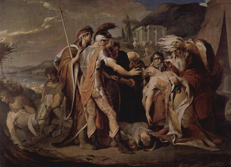 Джеймс Барри, «Король Лир оплакивает Корделию»