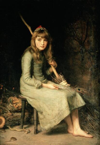 Джон Эверетт Милле, «Золушка», 1881 г.