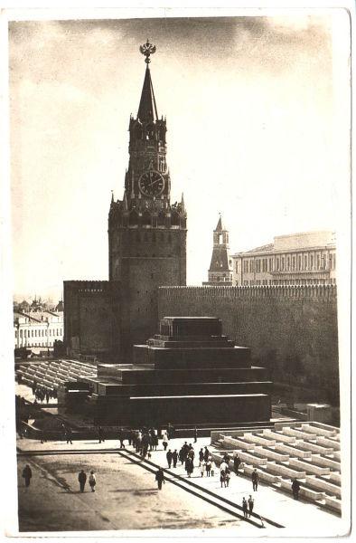 Мавзолей и Красная площадь, 1936 год