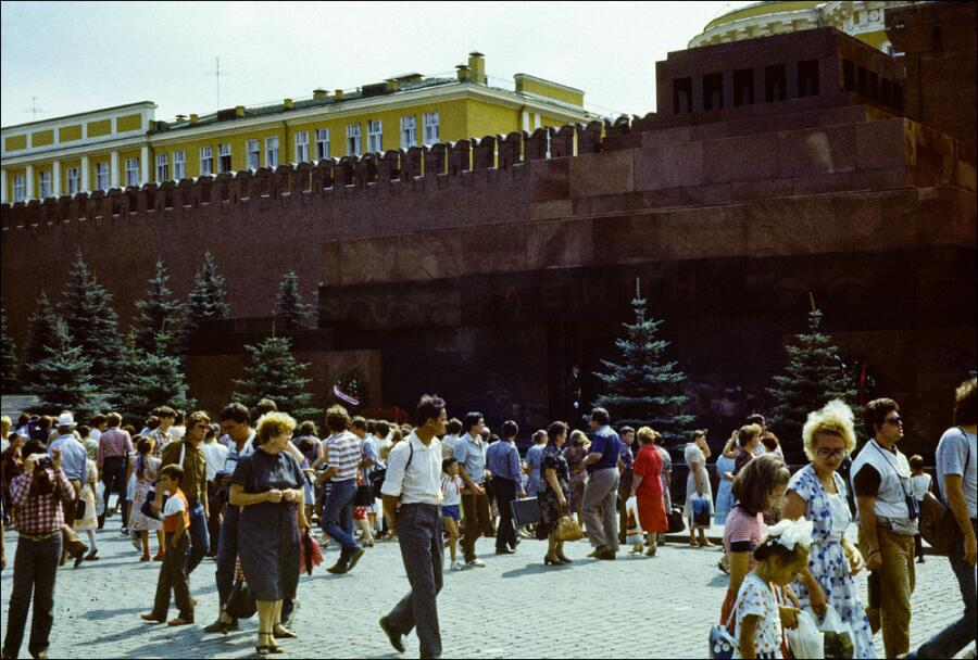 Мавзолей Ленина, 1986 год