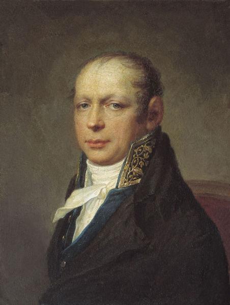 С. С. Щукин, «Портрет А. Д. Захарова»