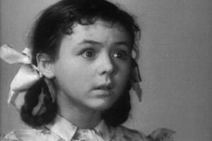 Яна Поплавская. Кадр из фильма «Про Красную шапочку»