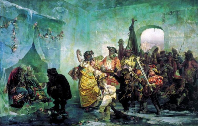 В. И. Якоби, «Ледяной дом», 1878 г.