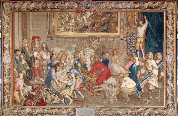 Посещение королем Людовиком XIV Мануфактуры Гобеленов. 15октября 1667 года. Ну, чем не фотография, «Новости дня»