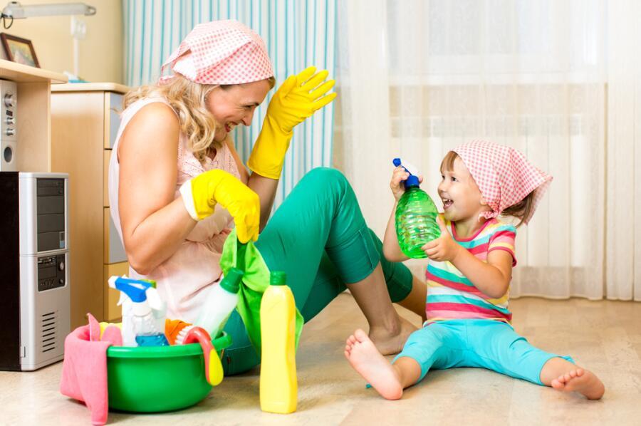 Как мотивировать ребенка убирать в своей комнате?