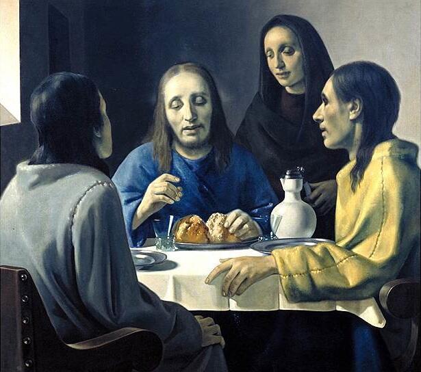 Хан ван Мегерен, «Христос в Эммаусе»