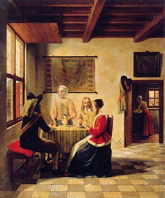 Проданная ван Мегереном музею Бойманса — ван Бёнингена подделка под де Хоха (