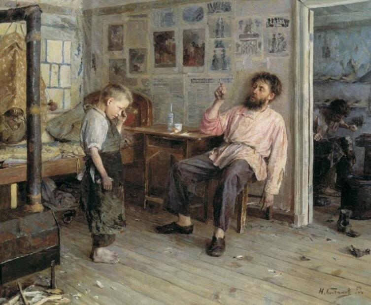 И. П. Богданов, «Новичок», 1893 г.