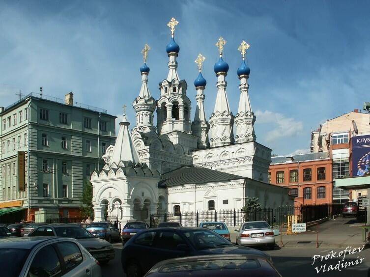 Церковь Рождества Богородицы в Путинках (Москва, XVII век)