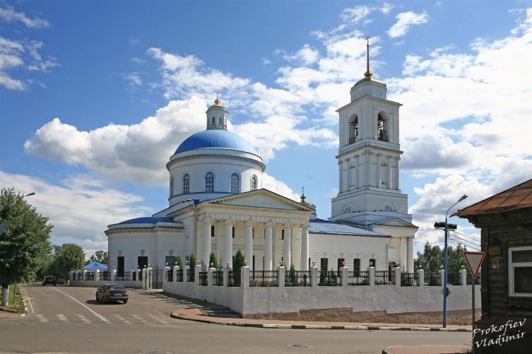 Церковь Николы Белого в Серпухове