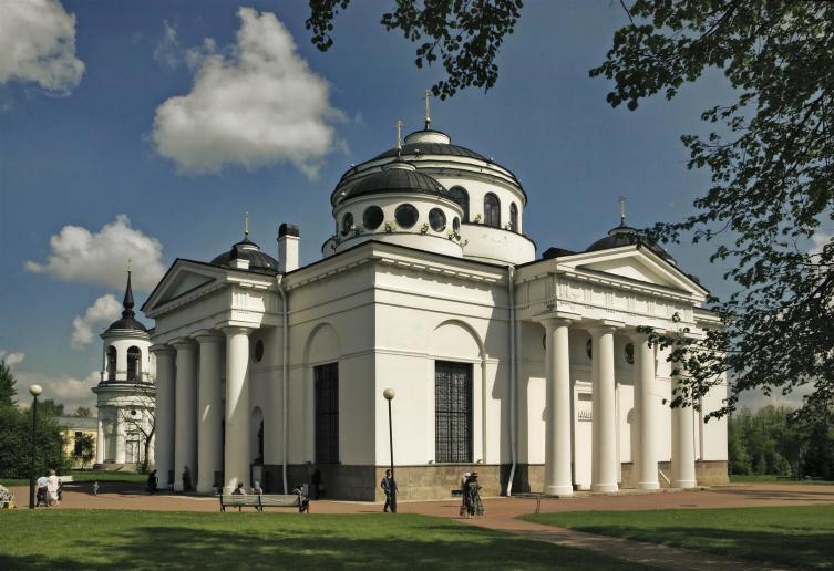 Софийский собор в Пушкине, построен по заказу Екатерины II