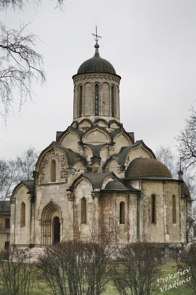 Спасский собор Андроникова монастыря, Москва (XV век), восстановлен в 1960 г.
