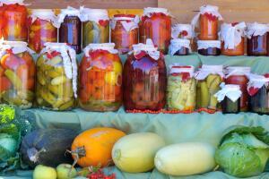 Компот «персиковый» из кабачков от Агаты