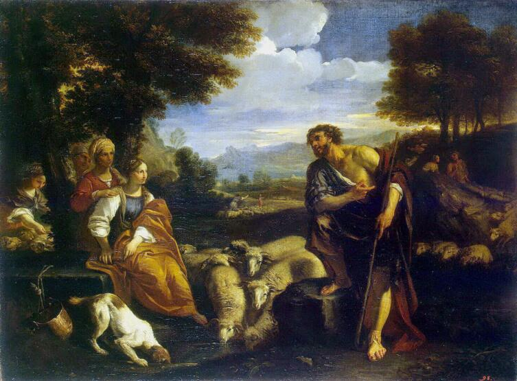 Пьер Франческо Мола, «Встреча Иакова с Рахилью»