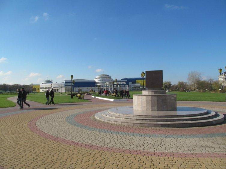 Скульптура «Гранит науки» в Белгороде