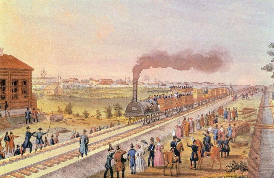 Тюмлинг, «Царскосельская железная дорога», 1830 г.