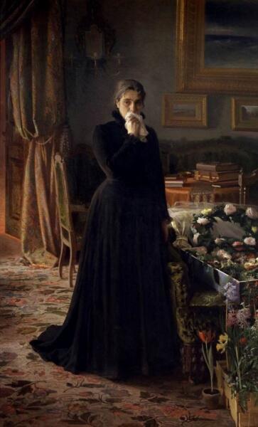 И. Н. Крамской, «Неутешное горе», 1884 г.