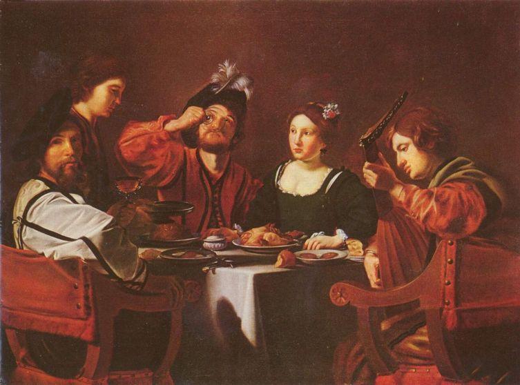 Николя Турнье, «Веселая компания», первая четверть XVII века
