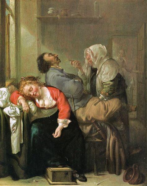 Иаков Дак, «Пьяные»