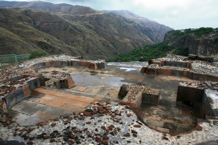 Остатки крепости Гарни