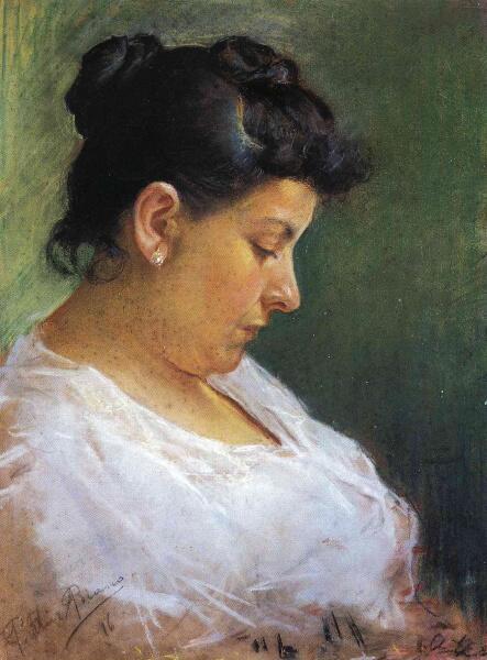 Пабло Пикассо, «Портрет матери художника», 1896 г.