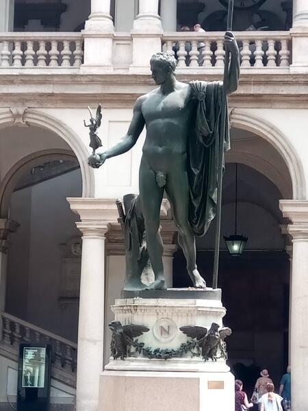 Наполеон-миротворец во всей своей красе. Дворец Брера
