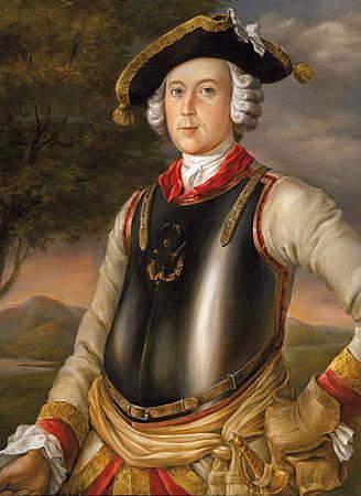 Карл Фридрих Иероним фон Мюнхгаузен, Г. Брукнер, 1752 г.